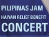 Pilipinas Jam : Haiyan Relief Benefit Concert featuring David Wycoco / The Heroic Black / Magellan's Killer / Sama Sama Project / Bagwis Collective