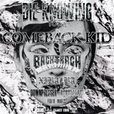Comeback Kid plus Backtrack / Xibalba / Downpresser / To The Wind