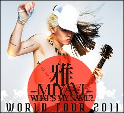 MIYAVI, WHAT'S MY NAME?, WORLD TOUR 2011