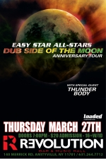 Easy Star All-Stars Dub Side of the Moon Anniversary Tour featuring Thunder Body / The Warden and Fame