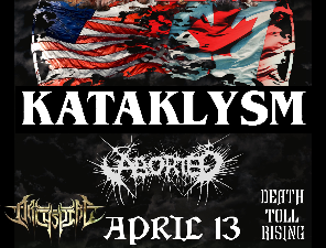 Kataklysm with Aborted, Archspire and Death Toll Rising
