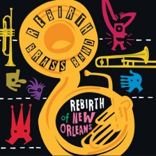 Rebirth Brass Band featuring New Sound Brass Band