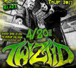 Twiztid with Blaze Ya Dead Homie / ABK / Johnny Richter / The R.O.C. / Ajax / O-Villainz / Trilogy / Smokehouse Junkiez / Origix & DC