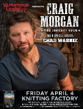 VA Mortgage Leader Presents Craig Morgan: The Journey Tour 2014
