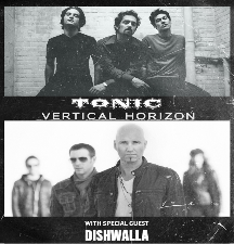 Tonic & Vertical Horizon with Special Guest Dishwalla