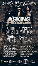 Asking Alexandria, August Burns Red, We Came As Romans, Crown The Empire, Born of Osiris