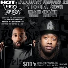 HOT 97 WHO'S NEXT featuring Ty Dolla $ign, Black Cobain & more