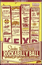 KEXP 90.3 presents the 24th annual Shake the Shack Rockabilly Ball!!! featuring Hillbilly Casino / Kim Lenz and the Jaguars / Billy Dwayne and the Creepers / Captain Jeffrey and His Musical Chumbuckets / The Wild Snohomians
