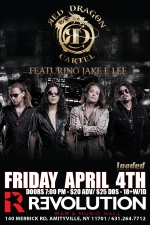 Jake E Lee's Red Dragon Cartel featuring Black Water Rising