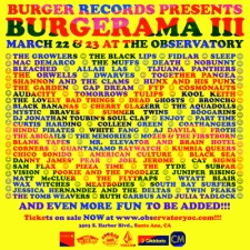 Burgerama III (Day 2) featuring FIDLAR / Sleep / Mac DeMarco / Allah Las / together PANGEA / The Garden / Kool Keith / Cosmonauts / & more!