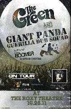The Green & Giant Panda Guerilla Dub Squad with Chris Boomer