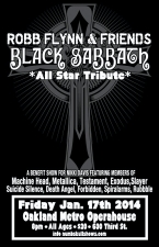 ROBB FLYNN & FRIENDS - BLACK SABBATH All Star Tribute