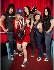 Hell's Belles ( All Female Tribute to AC/DC ), 5 Times Over