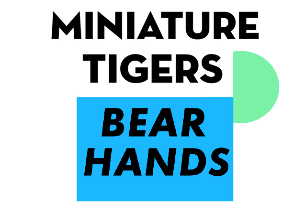 Bear Hands & Miniature Tigers with Total Slacker