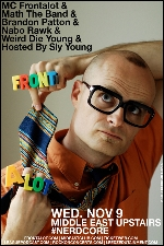 MC Frontalot , Math the Band , Brandon Patton , & more