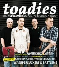 Toadies with Supersuckers / Battleme