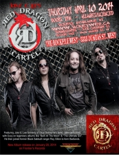 Jake E Lee's Red Dragon Cartel @ Toronto