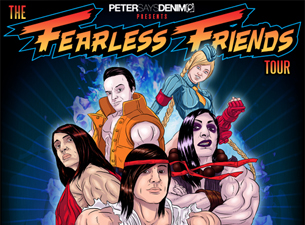 Fearless Friends Tour featuring Blessthefall : Presented By Peter says denim
