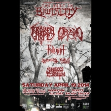 Best in Brutality featuring Broken Hope, Oceano