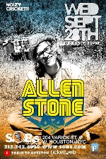 Allen Stone: Live In NYC, Presented By Noizy Cricket!!