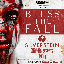 blessthefall & Silverstein with The Amity Affliction / Secrets / Heartist