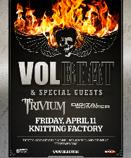 VOLBEAT, Trivium, Digital Summer