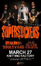 Supersuckers, Breakdown Boulevard, Old Death Whisper