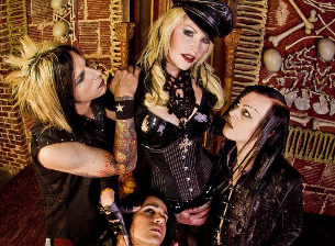 Genitorturers, Lucifer Jones, SYKA , Ignite Violet