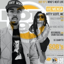 HOT 97 WHO'S NEXT featuring Vic Mensa, Nitty Scott, MC Rugz D Bewler & KB Yung Hustle