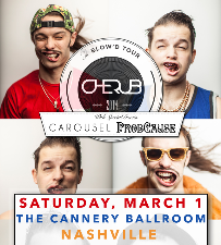 Cherub: The Blow'd Tour 2014 with Carousel & ProbCause