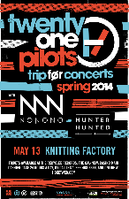 Twenty One Pilots, NoNoNo, Hunter Hunted