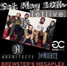 Letlive with Architects, Glass Cloud, I The Mighty