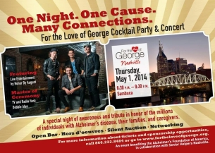 For the Love of George Nashville Cocktail Reception & Concert featuring Live Concert Performance by Honor By August