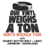 Stones Throw's 'Our Vinyl Weighs A Ton' Tour featuring: Peanut Butter Wolf, J Rocc, Jonwayne, Knxwledge