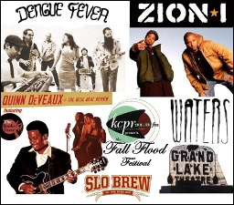 KCPR Presents Fall Flood Festival featuring Zion I / Dengue Fever