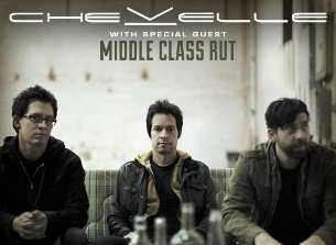 Chevelle with Middle Class Rut and Nothing More