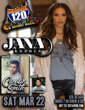 The Country Deep Tour, presented by AT&T U-Verse featuring : Jana Kramer, Canaan Smith and Austin Webb