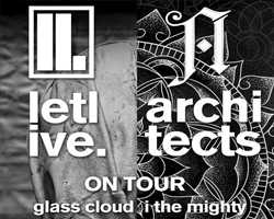 Letlive & Architects with Glass Cloud / I the Mighty