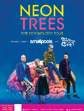 Neon Trees, Smallpools, Nightmare & the Cat