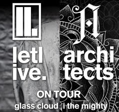 Letlive & Architects plus Glass Cloud and I the Mighty