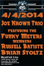 Joe Krown Trio - featuring the Funky Meters members Russell Batiste and Brian Stoltz / The Steve DiVenuta Trio