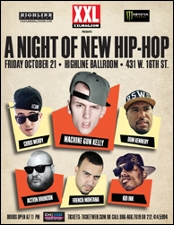 Machine Gun Kelly, Chris Webby, Dom Kennedy, French Montana, Kid Ink, Action Bronson