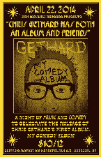 Chris Gethard & Friends (Album Release)