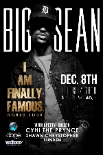 Big Sean - I Am Finally Famous World Tour with Special Guests: Cyhi Da Prynce & Shawn Chrystopher & Lunden