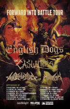 English Dogs , The Casualties , Toxic Holocaust , Havok