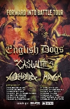English Dogs with The Casualties / Toxic Holocaust / Havok