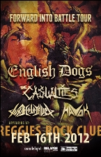 English Dogs / Casualties / Toxic Holocaust / Havok