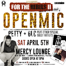 Openmic's FOR THE REBELS 2 CD release show