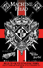 CANCELED: Machine Head, Anti-Mortem, Brutal Season, Krystos