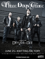 Three Days Grace, Devour The Day